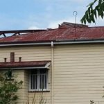 A STORM DAMAGE TO ROOF WHICH WAS NOT MAINTAINED