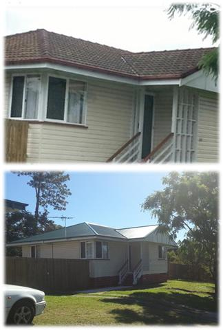 Tile To Metal Roofing Advantage Roofing And Guttering