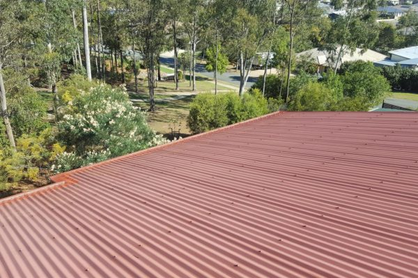 See how it blends in with the colour of the roof