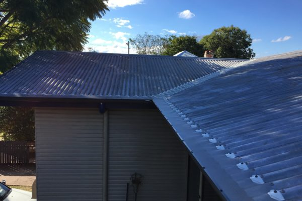 Gutterguard installed to guttering and valleys