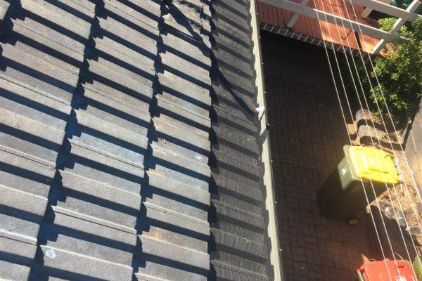 Reguttering and installation of gutterguard