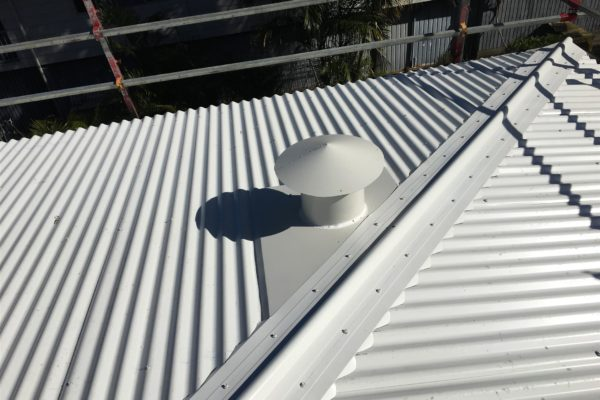 Completed part reroof project